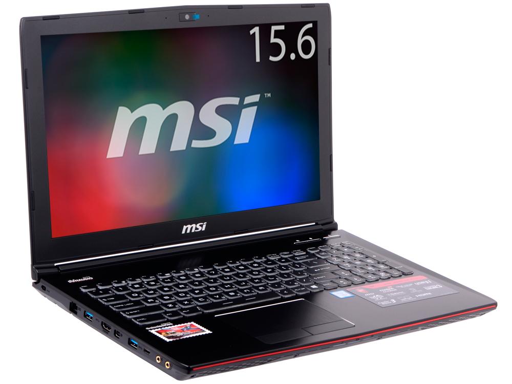 GE62 6QE(Apache Pro)-462RU ноутбук msi ge62 6qe 462ru apache pro 15 6 1920x1080 intel core i5 6300hq 9s7 16j512 462