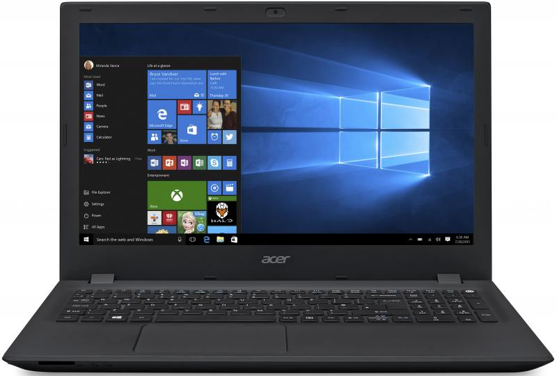 Ноутбук Acer Extensa EX2511-541P (NNX.EF6ER.007) i5-5200U(2.2)/4GB/500GB/15.6 1366x768/Int:Intel HD 5500/DVD-SM/WiFi/BT/Cam/Win10 Black