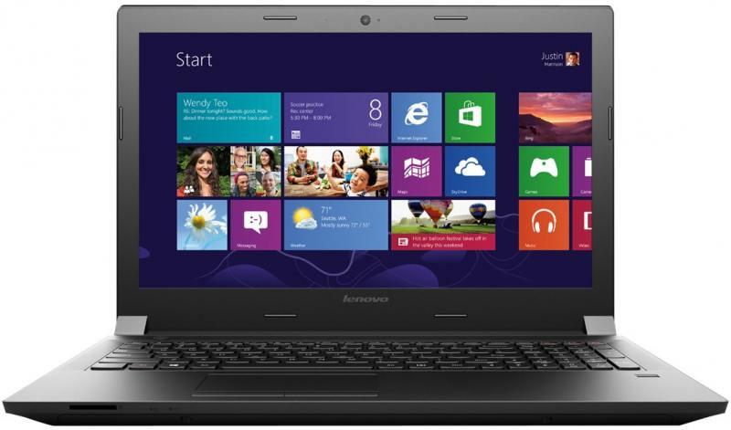 Ноутбук Lenovo IdeaPad B5080 80EW05LDRK Intel Core i3-5005U/6Gb/1Tb/15.6/1366x768 I/Intel HD R5 M330/DVD±RW/Windows 10/black от OLDI