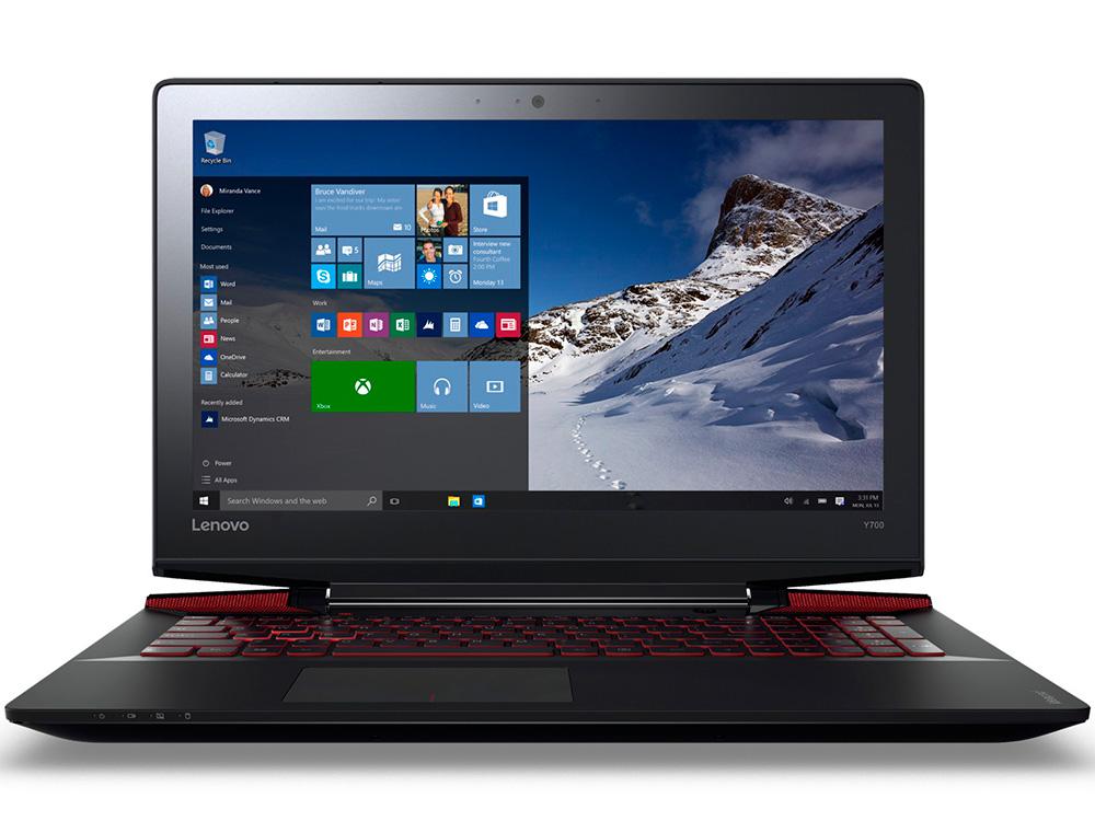 Ноутбук Lenovo IdeaPad Y700-15ISK (80NV0042RK) i5-6300HQ (2.3)/8GB/1TB + 128GB SSD/15.6 FHD AG/NV GTX 960M 4GB/noODD/Win10 (Black) new laptop keyboard for lenovo 15 y700 15 isk y700 15isk y700 15 us layout