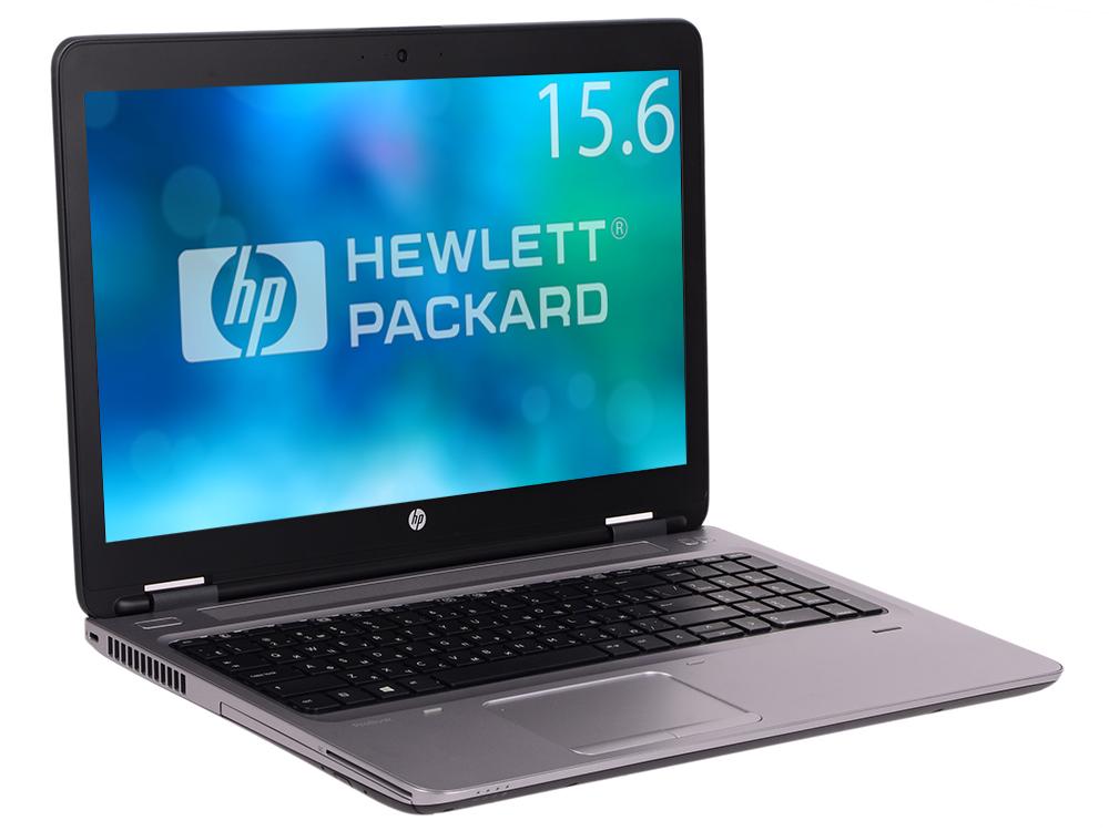 Ноутбук HP ProBook 650 G2 (Y3B05EA) i5-6200U (2.3) / 4GB / 500GB / 15.6 HD / Int: Intel HD 520 / DVD-RW / FP / Win7Pro + Win10Pro (Black/Silver) ноутбук hp probook 430 g3 w4n77ea core i7 6500u 8gb 500gb 13 3 hd win10pro win7pro black