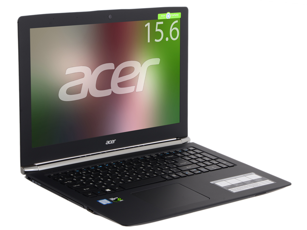 Ноутбук Acer Aspire VN7-572G-55J8 (NX.G7SER.008) i5-6200U (2.3)/8GB/500GB/15.6 1366x768/NV GTX950M 4 GB/DVD-SM/Bluetooth/Win10 Black купить