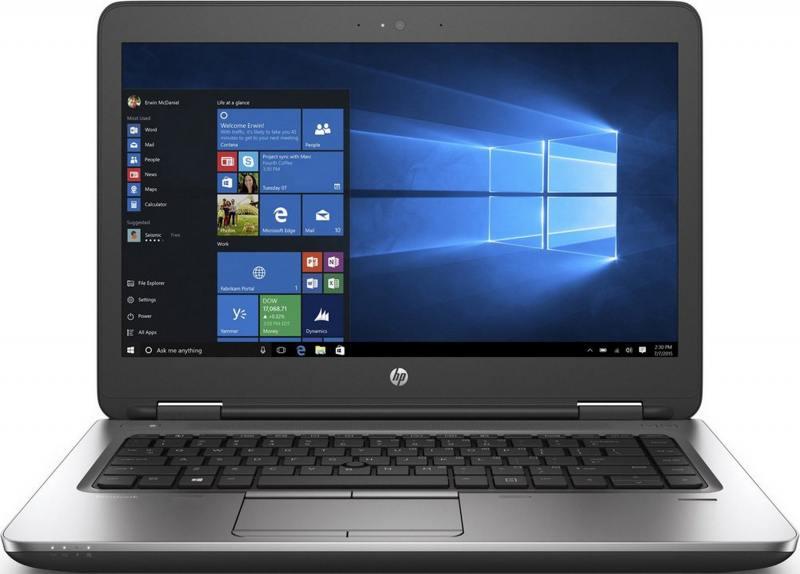 Ноутбук HP Probook 640 G2 (T9X04EA) i5-6200U (2.3)/8GB/128GB SSD/14 1920x1080/Int: Intel HD 520/DVD-SM/BT/Wi-Fi/Win7Pro + Win10Pro (Black) hp spectre pro x360 g2 transformer [v1b02ea] silver 13 3 fhd i5 6200u 8gb 128gb ssd hd520 w10pro