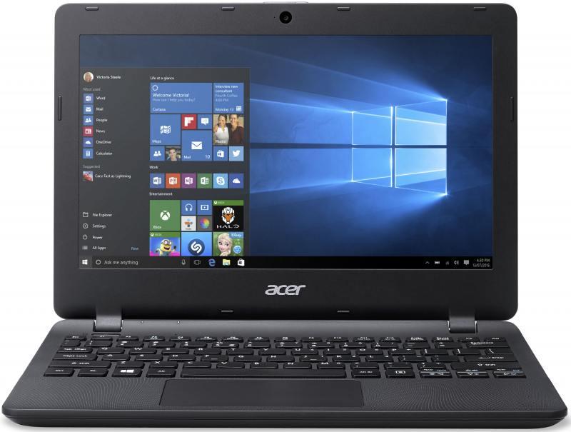 Ноутбук Acer Aspire ES1-131-C9Y6 Intel Celeron N3050 (1.6)/2GB/32GB SSD/11.6