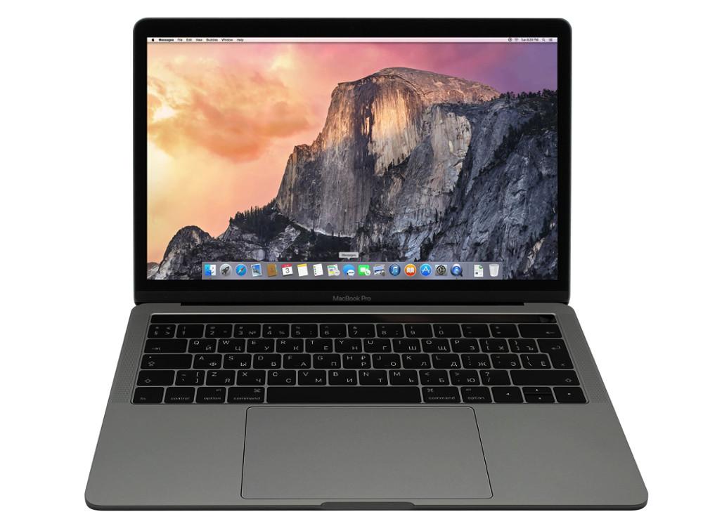 Ноутбук Apple MacBook Pro (MLH12RU/A) Core i5 (2.9)/8Gb/256Gb SSD/13.3 Retina/Int: Iris Graphics 550/DVD нет/BT/MacOS Space Grey apple macbook 12 retina mk4n2ru a core m 1 1ghz 8gb ssd512gb 12 wifi bt macosx gold