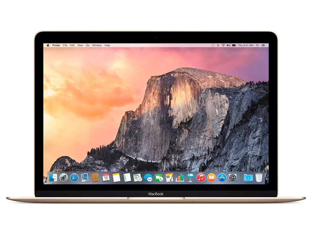 Ноутбук Apple MacBook 12 (MLHF2RU/A) Core M5-6Y54 (1.2)/8GB/512GB SSD/12 2304x1440/Intel HD Graphics 515/DVD нет/Bluetooth/macOS Gold apple macbook 12 mlhe2 ru a gold
