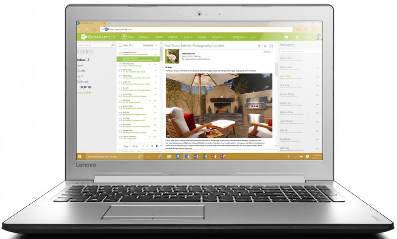 Ноутбук Lenovo IdeaPad 510-15IKB (80VC0009RK) i5-7200U (2.5)/8GB/1TB/15.6 1920x1080/AMD R7 M460 2GB/DVD нет/Win10 Black mitsubishi 100% mds r v1 80 mds r v1 80