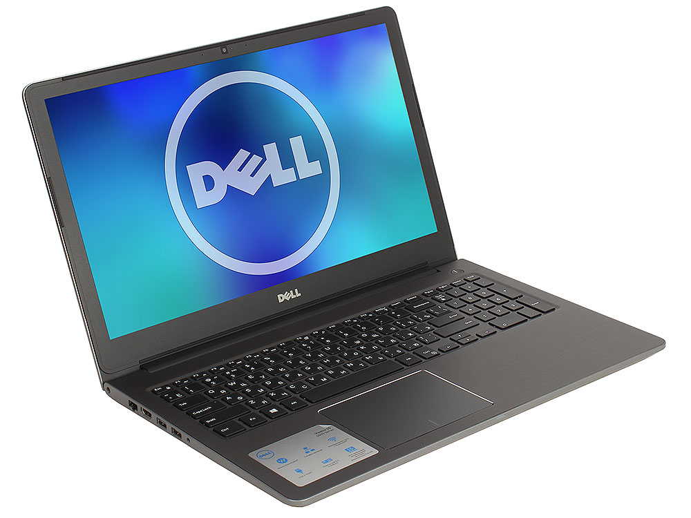 Ноутбук DELL Vostro 5568 (5568-8043) i5-7200U(2.5) / 8Gb / 256Gb SSD / 15.6 TN / HD Graphics / DOS / Grey ноутбук dell vostro 5568 5568 2907 5568 2907