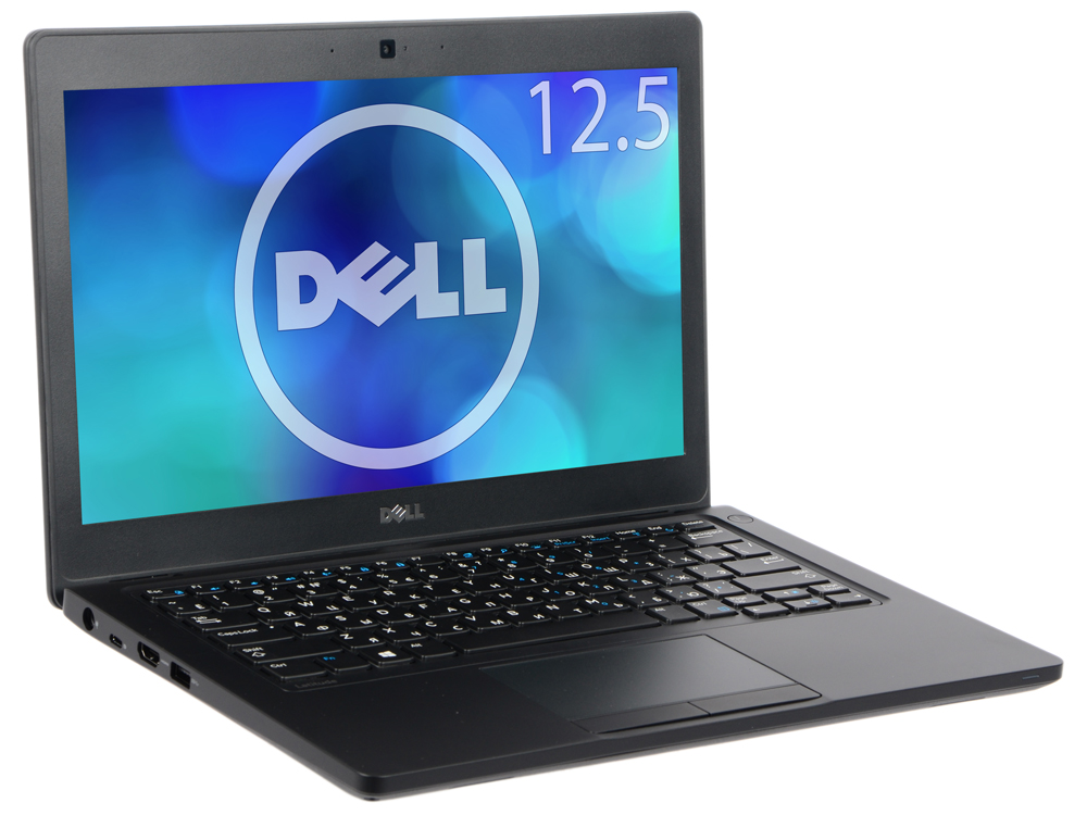 Ноутбук DELL Latitude 5280 (5280-9569) i3-7100U (2.5) / 4Gb / 500Gb HDD / 12.5 WXGA / HD Graphics 620 / Win 10 Pro / Black системный блок dell optiplex 3050 sff i3 6100 3 7ghz 4gb 500gb hd620 dvd rw linux клавиатура мышь черный 3050 0405