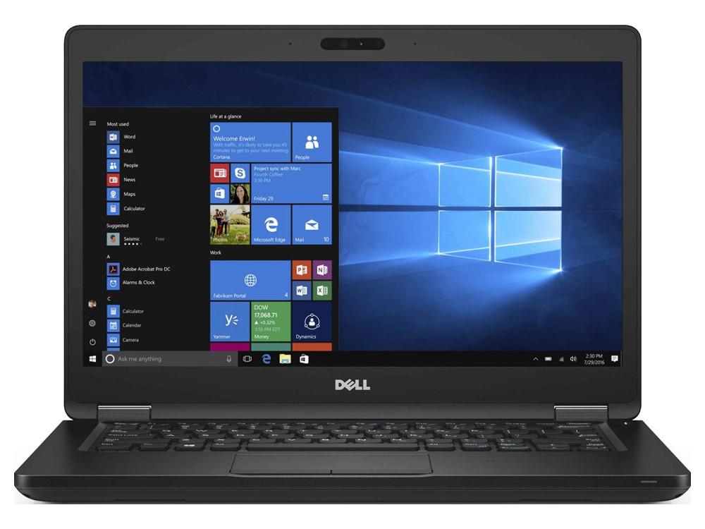 Ноутбук Dell Latitude 5480 (5480-9163) i5-7200U (2.5) / 4Gb / 500Gb / 14 FHD VA / HD Graphics 620 / Win 10 Pro / Black де пуль ду для gs va 7200