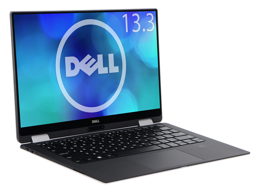 Ноутбук Dell XPS 13 (9365-4436) i7-7Y75(1.3)/16GB/512GB SSD/13.3 QHD+ IPS Touch/Int:Intel HD 615/DVD нет/BT/Win10 Silver free shipping 13 3 for dell xps 13 9350 assembly qhd lcd screen wih touch digitizer 3200 1800