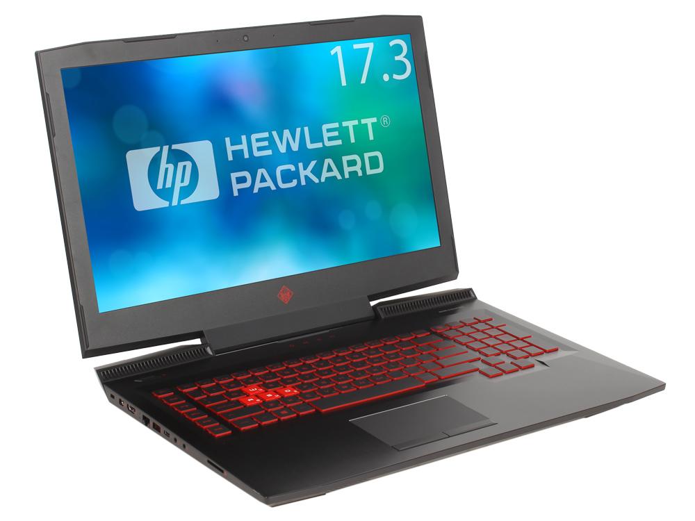 Ноутбук HP Omen 17-an039ur (2FP34EA) i5-7300HQ (2.5)/8Gb/1TB+128GB SSD/17.3 FHD AG/NV GTX 1060 6GB/DVD-RW/Win10 (Shadow black) ноутбук hp omen 15 ce022ur 2fp26ea core i5 7300hq 8gb 1tb 128gb ssd nv gtx1060 6gb 15 6 fullhd win10 black