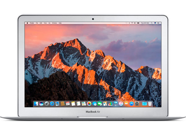 Ноутбук Apple MacBook Air 13 (MQD42RU/A) i5 (1.8)/8GB/256GB SSD/13.3 1440x900/Intel HD Graphics 6000/DVD нет/Bluetooth/macOS Silver ноутбук apple macbook