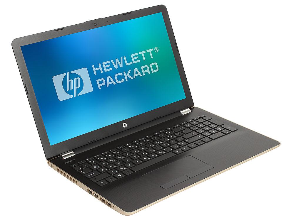 Ноутбук HP 15-bs085ur (1VH79EA) i7-7500U (2.7)/6Gb/1Tb+128Gb SSD/15.6FHD/AMD 530 4Gb/No ODD/Cam HD/Win10 (Silk Gold) игровой ноутбук hp 15 bs086ur i7 7500u 2700mhz 6gb 1tb 128gb ssd 15 6fhd amd 530 4gb no odd win10