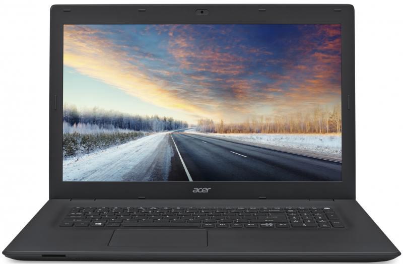 Ноутбук Acer TravelMate TMP278-M-30ZX (NX.VBPER.011) Core i3-6006U (2.0)/4GB/500GB/17.3 1600x900/Int:Intel HD 520/noDVD/BT/Win10 Black ноутбук acer switch 10 sw5 011 18py 32g