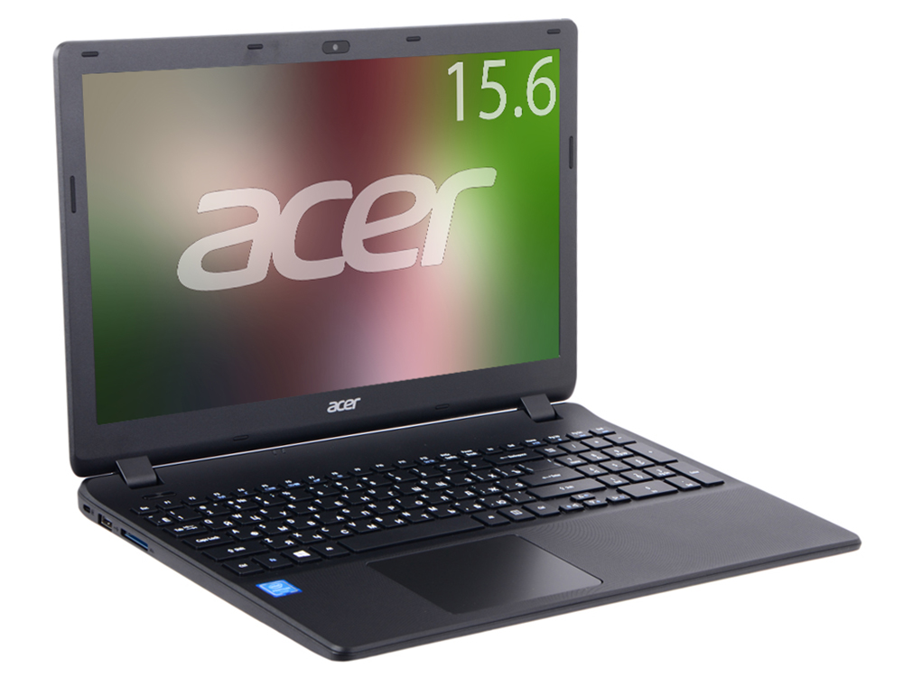Ноутбук Acer Extensa EX2519-C5MB (NX.EFAER.056) Celeron N3060/2GB/500GB/15.6 1366x768/Int:Intel HD 400/DVD нет/WiFi/BT/Cam/Win10 Black