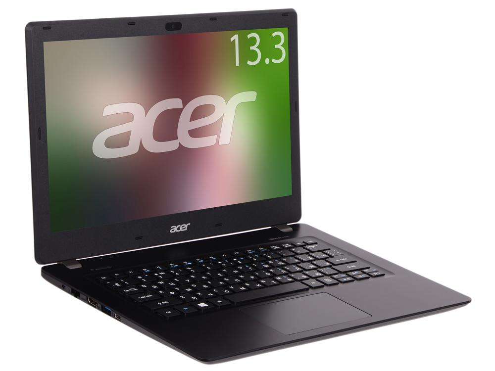 Ноутбук Acer TravelMate TMP238-M-P718 (NX.VBXER.017) Pentium 4405U (2.1)/4GB/500GB/13.3 1366x768/Int: Intel HD 510/DVD нет/BT/Linux Black acer switch v10 sw5 017 11fu black