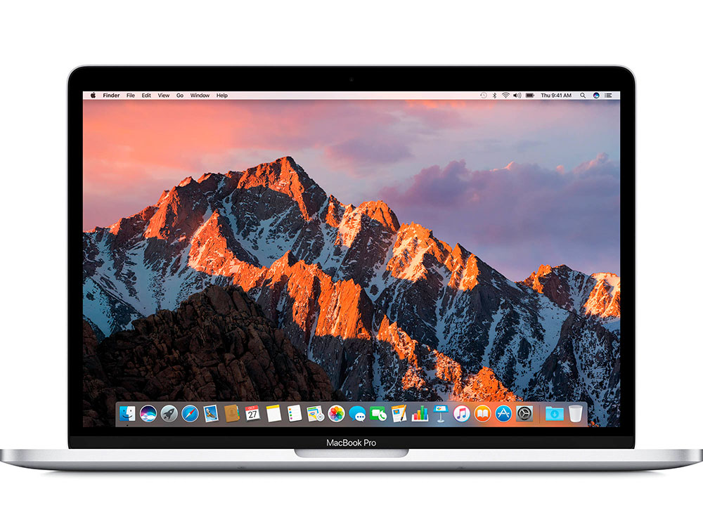 Фото Ноутбук Apple MacBook Pro 13 (MPXU2RU/A) Retina DC IC i5 2.3GHz/8GB/256GB SSD/Int Iris Plus Graphics 640/Force Touch trackpad/Silver ноутбук apple macbook pro 13 mpxt2ru a retina dc ic i5 2 3ghz 8gb 256gb ssd int iris plus graphics 640 force touch trackpad space grey