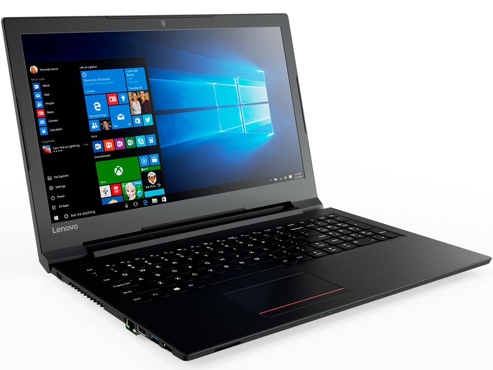 Ноутбук Lenovo V110-15AST 80TD002MRK A6-9210 (2.5) / 4Gb / 500Gb HDD / 15.6 / Radeon R4 / Win 10 / Black ноутбук hp 15 bs027ur 1zj93ea core i3 6006u 4gb 500gb 15 6 dvd dos black