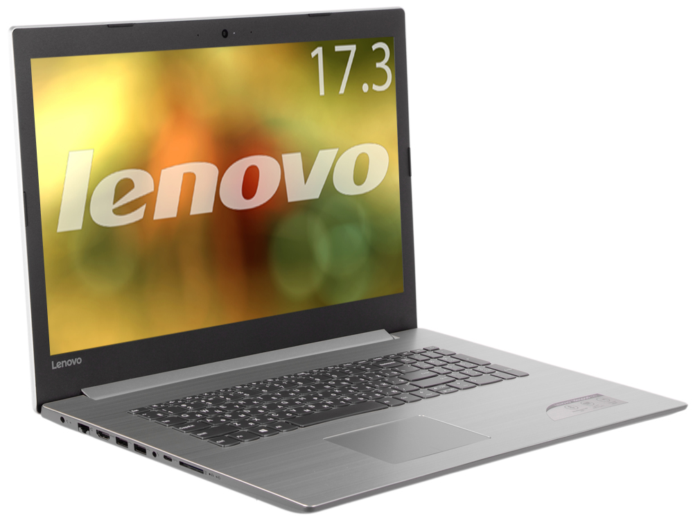 Ноутбук Lenovo IdeaPad 320-17ABR (80YN0000RK) A10-9620P (2.5) / 8Gb / 1Tb / 17.3 HD+ / AMD Radeon 520 2Gb / Win 10 / Silver ноутбук lenovo ideapad 320 15abr 80xs000mrk amd a10 9620p 2 4 6gb 1tb 15 6 1920x1080 ag amd radeon 530 2gb noodd bt win10 grey
