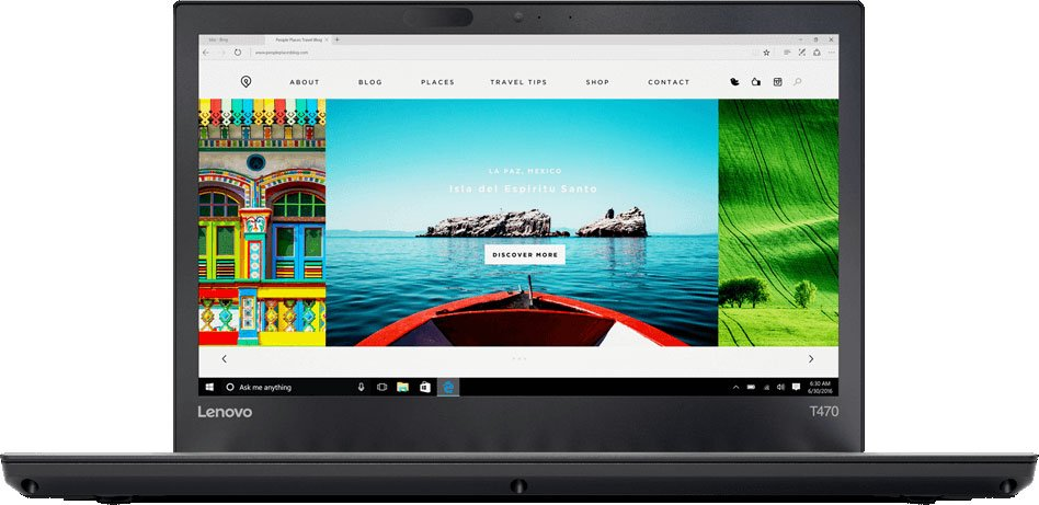 Ноутбук Lenovo ThinkPad T470 (20HD0000RT) i5-7200U (2.5) / 4Gb / 500Gb / 14 FHD IPS / HD Graphics 620 / Win 10 Pro / Black neworig keyboard bezel palmrest cover lenovo thinkpad t540p w54 touchpad without fingerprint 04x5544