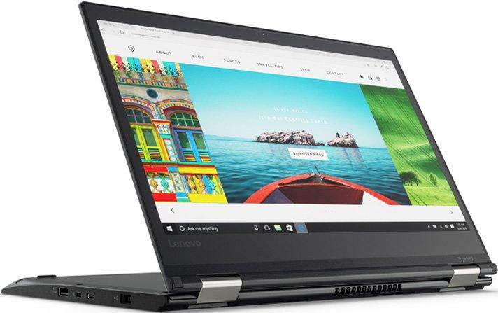 Ноутбук Lenovo ThinkPad Yoga 370 20JH002KRT i5-7200U (2.5) / 8Gb / 256Gb SSD / 13.3 FHD IPS / HD Graphics 620 / Win 10 Pro / Black ультрабук трансформер lenovo thinkpad yoga 370 20jh003drt 20jh003drt