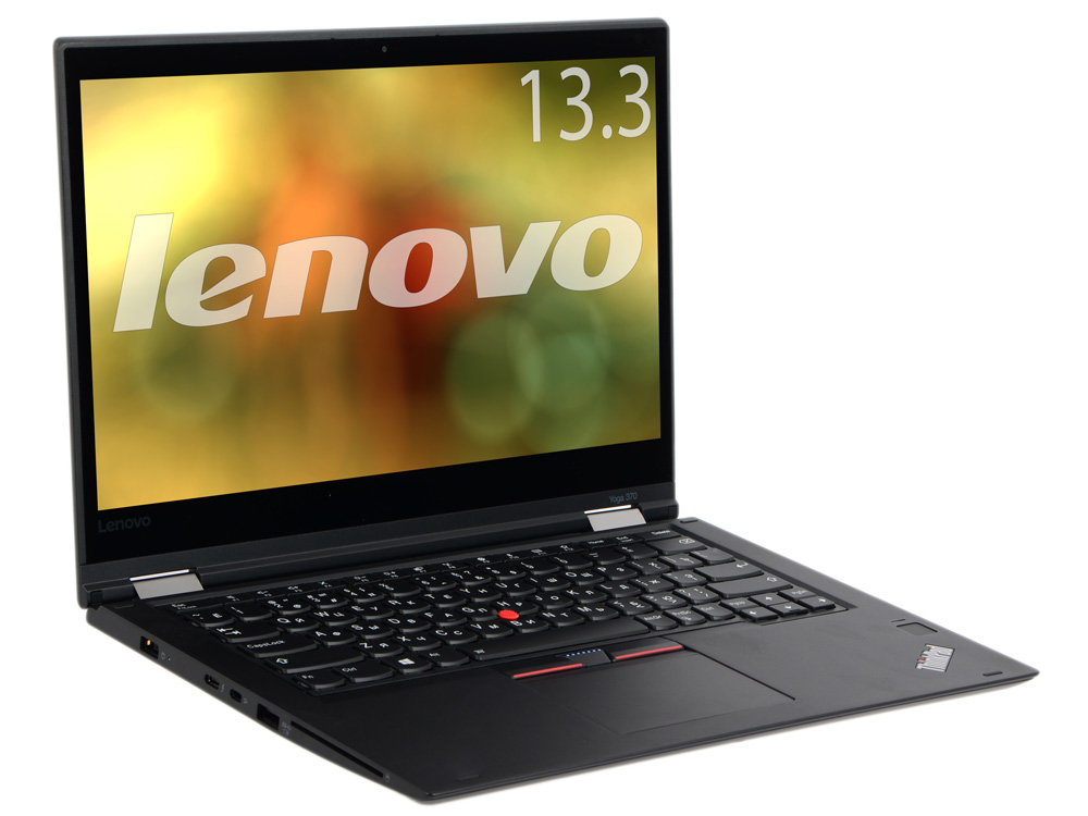Ноутбук Lenovo ThinkPad Yoga 370 20JH002KRT i5-7200U (2.5) / 8Gb / 256Gb SSD / 13.3 FHD IPS / HD Graphics 620 / Win 10 Pro / Black ноутбук lenovo yoga 720 13ikb 80x60059rk i5 7200u 2 5 8gb 128gb ssd 13 3 fhd ips hd graphics 6ы20 win 10 silver