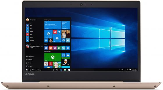 Ноутбук Lenovo IdeaPad 520S-14IKB (80X2000VRK) i5-7200U (2.5) / 8Gb / 256Gb SSD / 14 FHD TN / GeForce GT 940MX 2Gb / Win 10 / Gold ноутбук lenovo ideapad 320 15 80xl024krk i5 7200u 2 5 8gb 1tb 15 6 hd tn geforce 940mx 2gb win 10 black