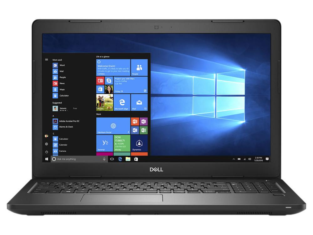 Ноутбук DELL Latitude 3580 (3580-7697) i3-6006U (2.) / 4Gb / 500Gb HDD / 15.6 HD / HD Graphics 520 / Win 10 Pro / Black ноутбук dell latitude 3480 core i3 6006u 4gb 500gb 14 0 dos