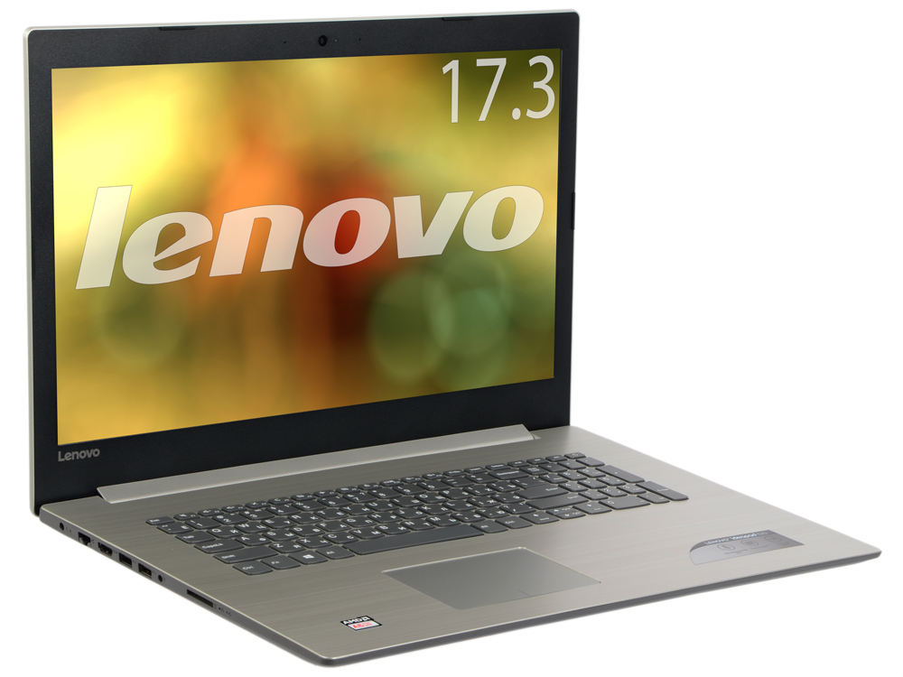 Ноутбук Lenovo IdeaPad 320-17AST (80XW0002RK) A6-9220 (2.5)/4GB/1TB/17.3 1600x900 AG/AMD Radeon 530 2Gb/Cam HD/BT/DVD-SM/Win 10 Gray 80 1600