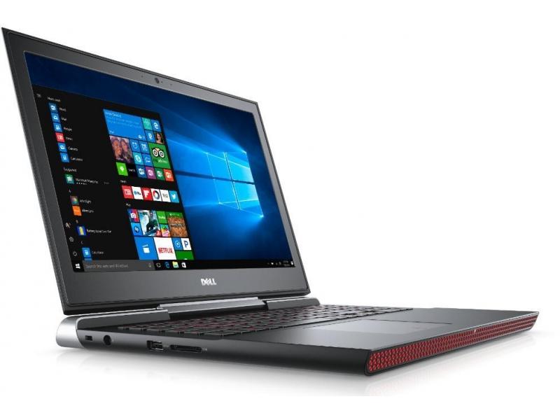 Ноутбук Dell Inspiron 7567 (7567-2001) i5-7300HQ (2.5)/8GB/256 GB SSD/15.6 1920x1080 AG/NV GTX1050 4G/DVD нет/BT/Win10 Black ssd dell 400 aqnv