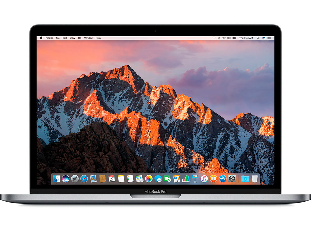 Фото Ноутбук Apple MacBook Pro 13 (MPXV2RU/A) with Touch Bar i5-7267U (3.1)/8GB/256GB SSD/13.3 2560x1600/Intel Iris Plus Graphics 650/DVD нет/Bluetooth/macOS Space Grey ноутбук apple macbook pro 13 mpxt2ru a retina dc ic i5 2 3ghz 8gb 256gb ssd int iris plus graphics 640 force touch trackpad space grey