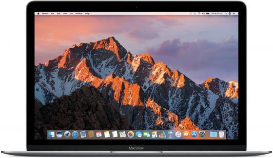 Ноутбук Apple MacBook 12 2304x1440 Intel Core i5-7Y54 SSD 512 8Gb Intel HD Graphics 615 серебристый ноутбук apple macbook mlhc2ru a 12 intel core m5 6y54 1 2ггц 8гб 512гб ssd intel hd graphics 515 mac os x серебристый