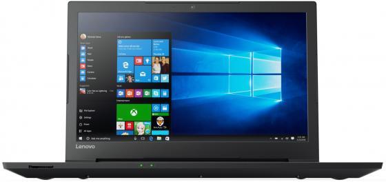 Ноутбук Lenovo V110-15IAP (80TG00AMRK) Celeron N3350 (1.1) / 4Gb / 500Gb / 15.6 HD TN / HD Graphics 500 / DOS / Black lenovo ideapad 100 15ibd [80qq000krk] black 15 6 hd i5 5200u 4gb 500gb dvdrw gf920m 1gb dos