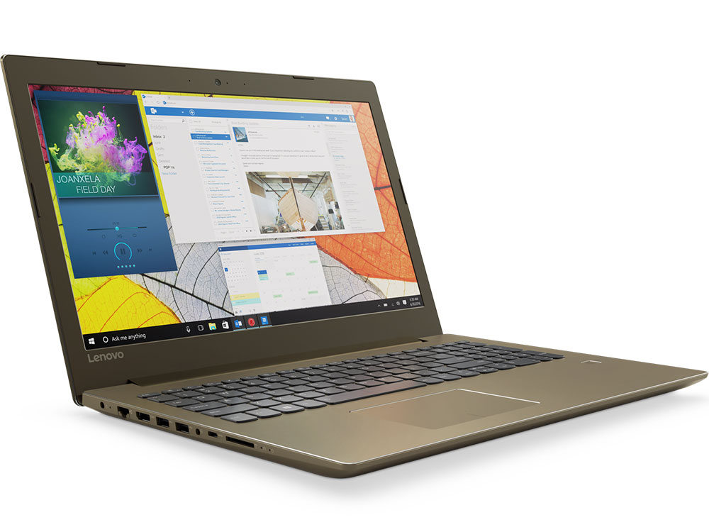 Ноутбук Lenovo IdeaPad 520-15IKB (80YL00H0RK) i3-7100U (2.4) / 4Gb / 500Gb / 15.6 FHD IPS / GeForce GT 940MX 2Gb / DOS / Brown ноутбук lenovo ideapad m3070 2957u 2gb 500gb 4400 13 3 hd dos