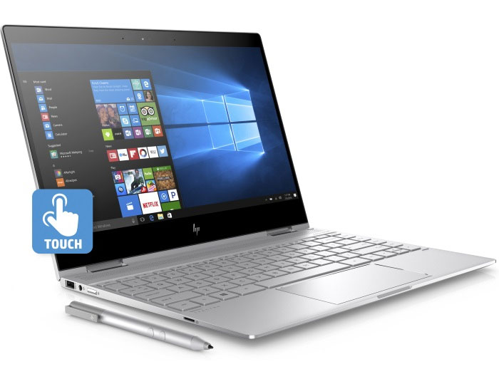 Ноутбук HP Spectre x360 13-ae008ur (2VZ68EA) i5-8250U(1.6)/8GB/256GB SSD/13.3 1920x1080 IPS Touch/Int:Intel UHD 620/BT/FHD Cam/Win10 + Pen Silver 3 in 1 capacitive resistive touch screen stylus ball point pen silver