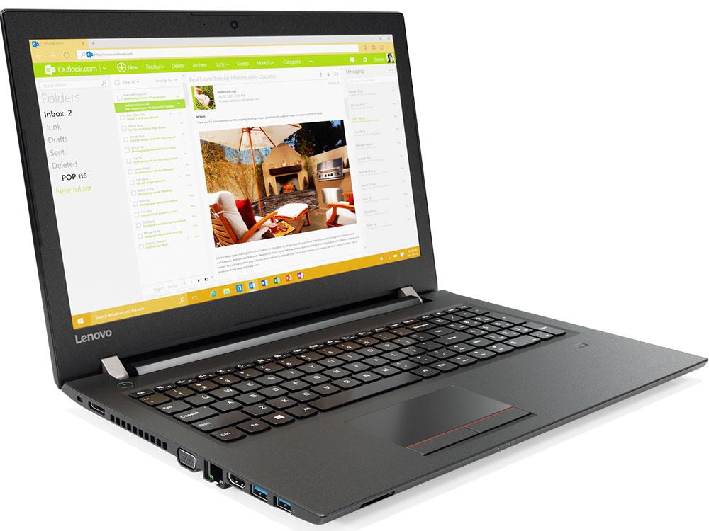 Ноутбук Lenovo V510-15IKB (80WQ024DRK) i3-6006U (2.0)/4GB/1TB/15.6