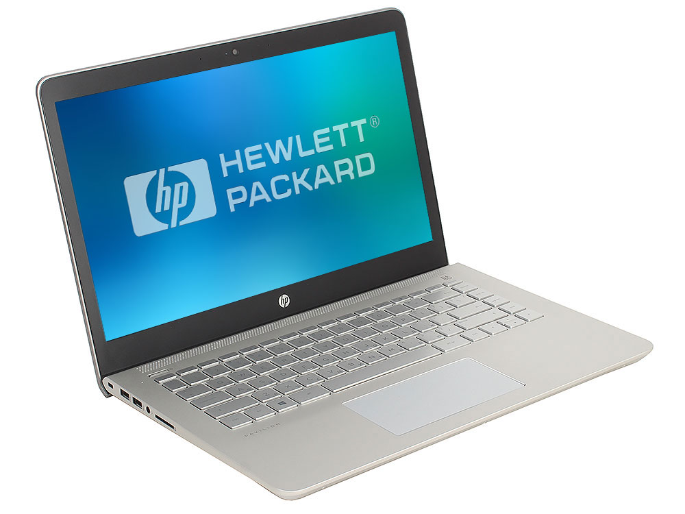 Ноутбук HP Pavilion 14-bf022ur (2PV82EA) Pentium 4415U (2.3)/4Gb/1Tb/14.0FHD/Int Intel HD/No ODD/Win 10 (Mineral Silver)