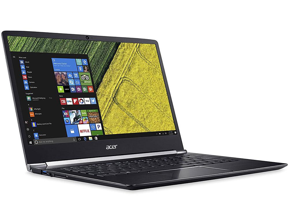 Ноутбук Acer Acer Swift 5 SF514-51-574H (NX.GLDER.002) i5-7200U (2.5) / 8Gb / 256Gb SSD / 14 FHD IPS / HD Graphics 620 / Win 10 / Black планшет acer aspire switch 10 dock 10 1 1280x800 ips [nt g8ver 002]