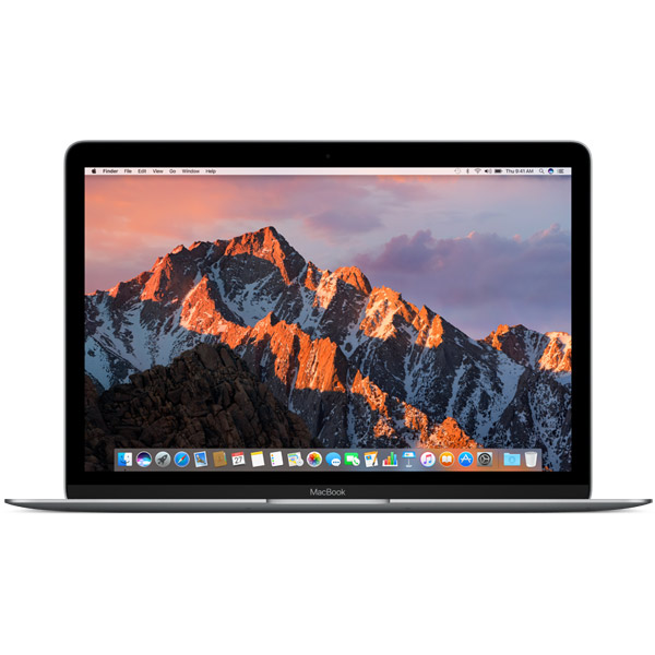 Ноутбук Apple MacBook 12 (MNYF2RU/A) m3-7Y32 (1.2) / 8Gb / 256Gb SSD / 12 FHD IPS / HD Graphics 615 / Mac OS X / Silver ноутбук apple macbook 2015 12 8gb 256gb silver mf855