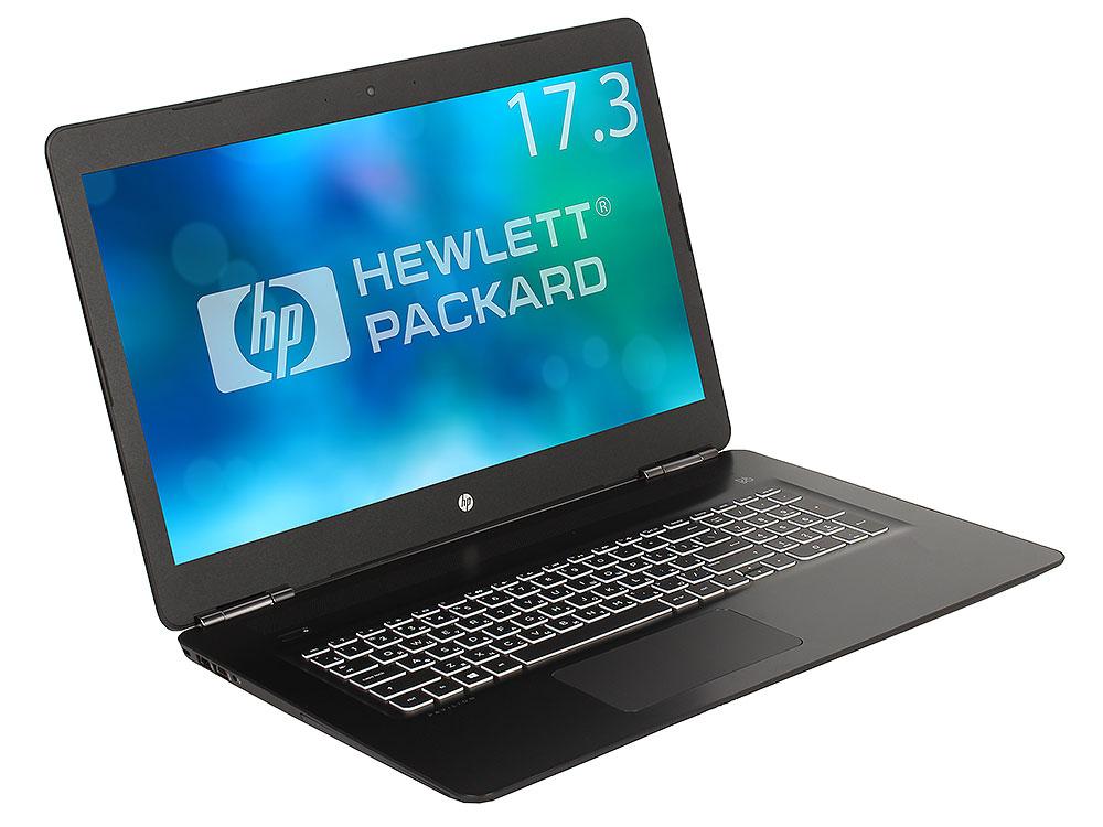 Ноутбук HP Pavilion Gaming 17-ab319ur (2PQ55EA) i7-7700HQ (2.8)/8Gb/1Tb + 128Gb SSD/17.3 FHD AG/NV GTX 1050Ti 4GB/DVD-RW/Cam HD/BT/Win10 (Shadow Black) ноутбук hp omen 15 ce010ur 1zb04ea core i7 7700hq 8gb 1tb 128gb ssd nv gtx1050ti 4gb 15 6 fullhd win10 black