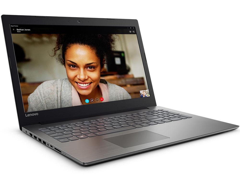 """Ноутбук Lenovo IdeaPad 320-15IAP (80XR00X7RK) Pentium N4200 (1.1)/4GB/2TB/15.6"""" 1366x768 AG/Intel HD 505/Cam HD/BT/DVD нет/DOS Black"""