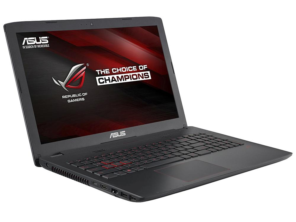 Ноутбук Asus ROG GL552VX-CN368T i7-6700HQ (2.6)/8GB/1TB/15.6 1920x1080 AG/NV GTX 950M 4G/DVD-SM/BT/Win10 Gray, Metal samsung rs 552 nruasl