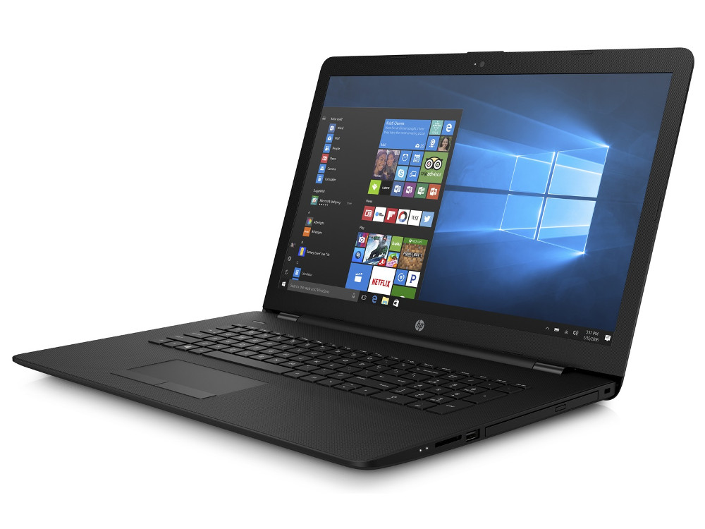 Ноутбук HP 17-ak040ur (2CP55EA) AMD A6-9220 (2.5)/4GB/500GB/17.3 HD+ AG/AMD Radeon 530 2Gb/DVD-SM/Win10 (Jet Black) hp 17 ak040ur [2cp55ea] black 17 3 hd a6 9220 4gb 500gb amd520 2gb dvdrw w10