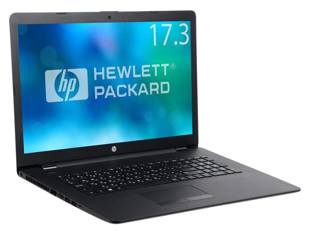 Ноутбук HP 17-ak035ur (2CP49EA) AMD A9-9420 (3.0)/6GB/500GB/17.3 HD+/Int: AMD Radeon R5/DVD-SM/Win10 (Black) ноутбук hp 17 ak080ur 17 3 1920x1080 amd a9 9420 1 tb 8gb amd radeon 530 2048 мб черный dos 2qh69ea