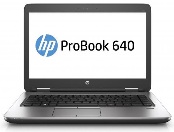 Ноутбук HP Probook 640 G3 (Z2W39EA) i7-7600U (2.8)/4GB/1TB/14 1920x1080/Intel HD 620/DVD-SM/BT/Wi-Fi/Win10Pro Black ноутбук hp probook 640 g3 z2w39ea z2w39ea