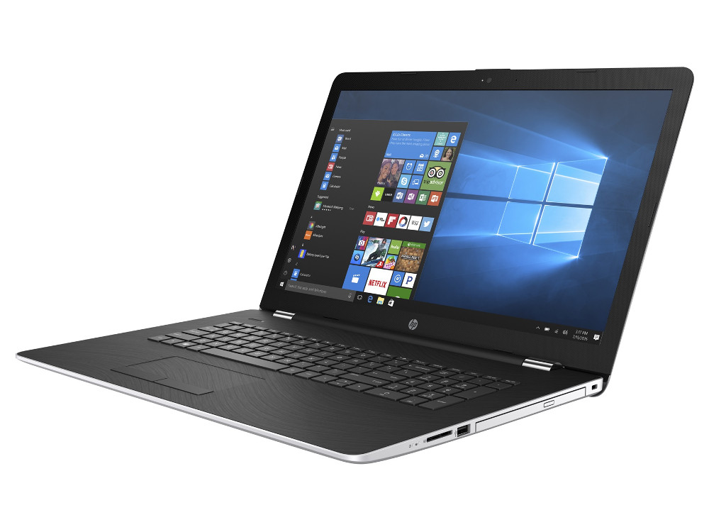 Ноутбук HP 17-ak041ur (2CP56EA) AMD A6-9220 (2.5)/4G/500G/17.3 HD+ AG/AMD Radeon 520 2G/DVD-SM/BT/Win10 ноутбук hp 17 ak041ur 17 3 1600x900 amd a6 9220 500 gb 4gb amd radeon 520 2048 мб серебристый windows 10 home 2cp56ea