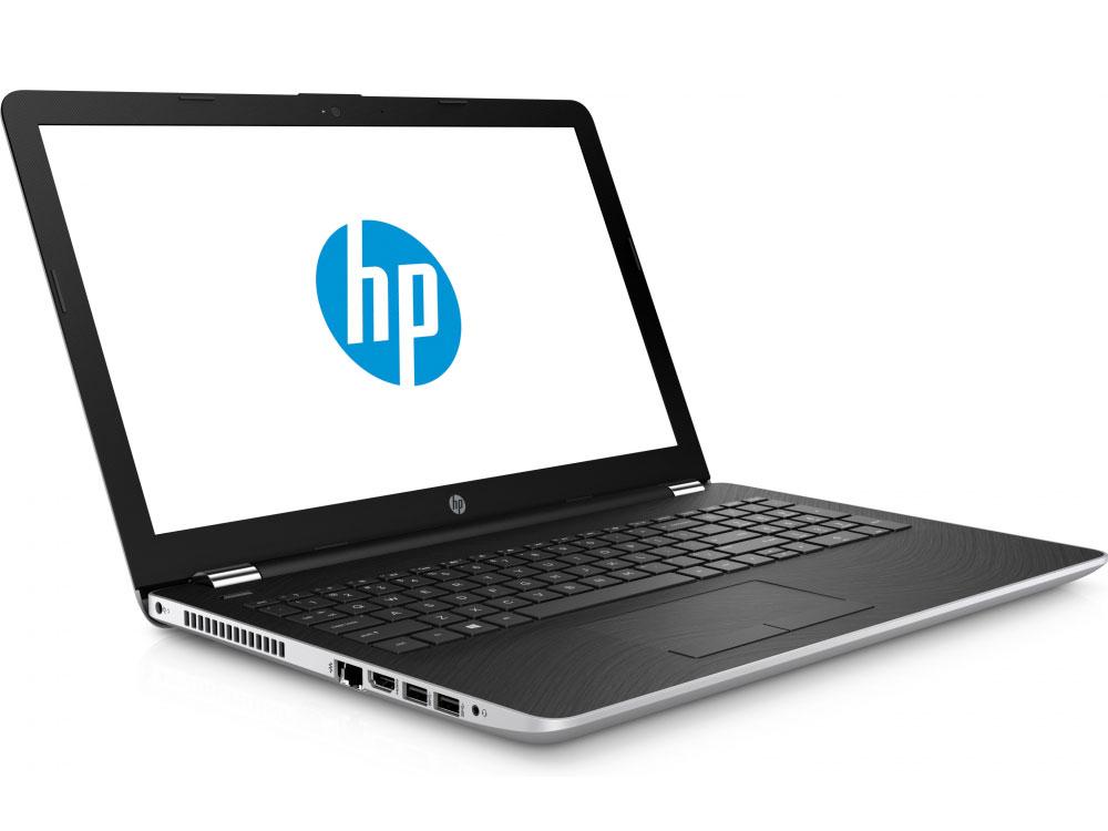 Ноутбук HP 15-bs018ur (1ZJ84EA) i3-6006U (2.0)/4GB/500GB/15.6 FHD/Radeon R520 2GB/noODD/DOS (Silver) ноутбук hp 15 bs027ur 1zj93ea core i3 6006u 4gb 500gb 15 6 dvd dos black