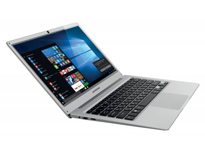 Ноутбук Digma EVE 300 (ES3004EW) Atom X5 Z8350 (1.44)/2GB/32GB/13.3 FHD IPS/Int: Intel HD 400/noODD/Win10 (Silver) silver eve got 2