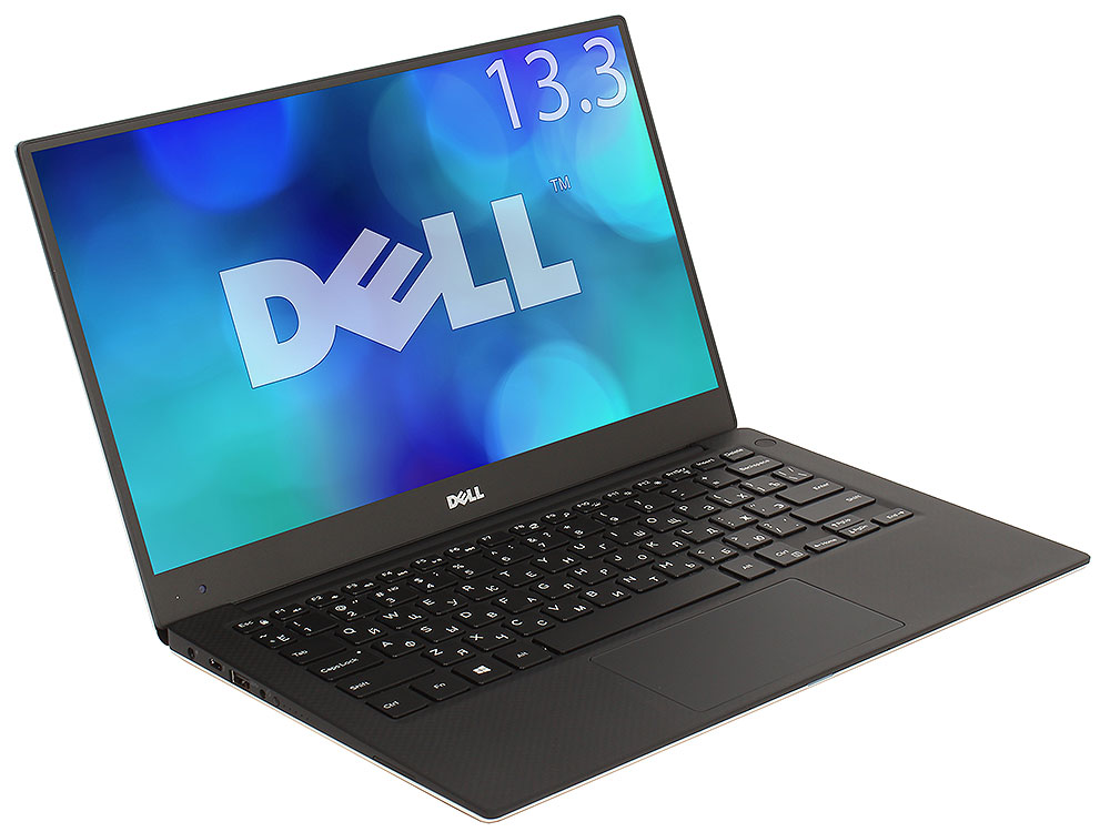 Ноутбук Dell XPS 13 (9360-5556) i7-8550U (1.8)/8GB/256GB SSD/13.3 QHD+ (3200x1800) IPS Touch/Intel UHD 620/Backlit/DVD нет/BT/Win10 Silver free shipping 13 3 for dell xps 13 9350 assembly qhd lcd screen wih touch digitizer 3200 1800